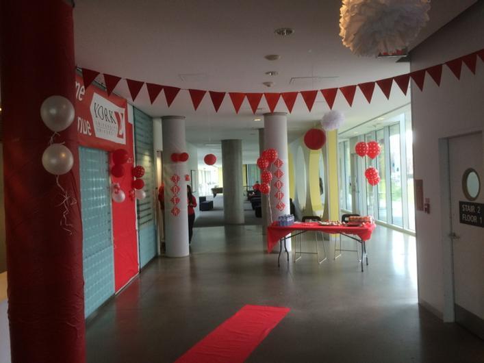 #PondRes looking great for #RedandWhite day #yuspirit http://t.co/Qn2DuMSkFv