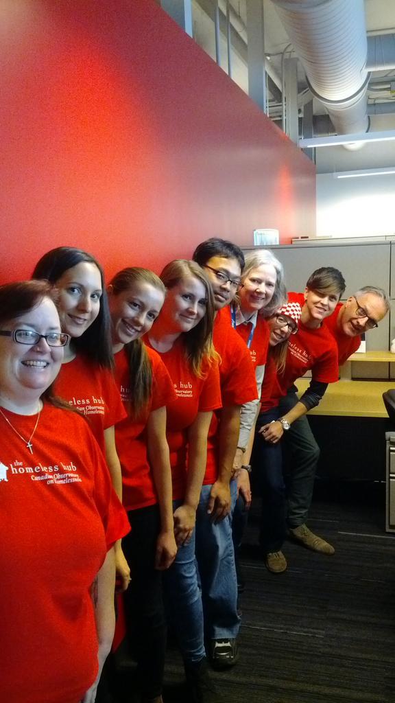 Oh yeah @homelesshub has #YUSpirit today @York university - great staff team working to #endhomelessness http://t.co/nRSJwMr4Is