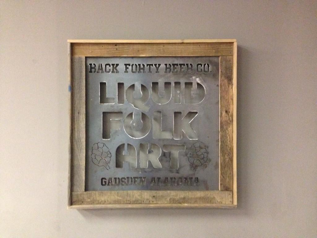 Laser Cut Metal Signs >> Back Forty Beer Co On Twitter So These Laser Cut Metal Signs Just