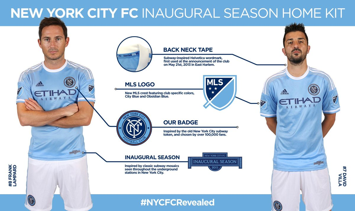 outlet store ffd69 13157 New York City FC reveal inaugural kit : MLS