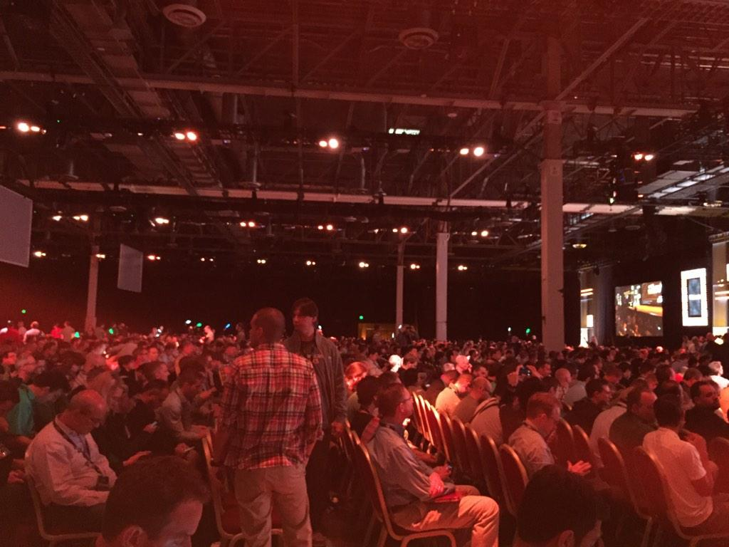 Q: How do you get 13,000 #DevOps and developers out of bed at 8am four days in a row? A: AWS #reInvent http://t.co/L60Z3PgUfU