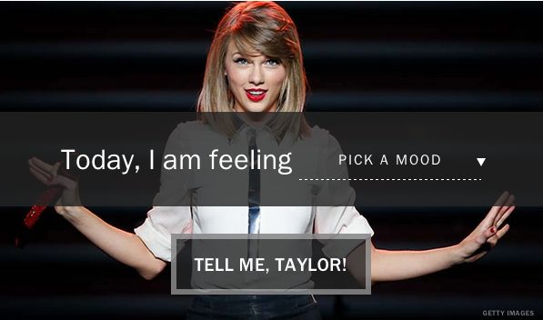 Find the perfect Taylor Swift lyric for your mood http://t.co/bs2coVGHBZ http://t.co/bQjFVWnn10