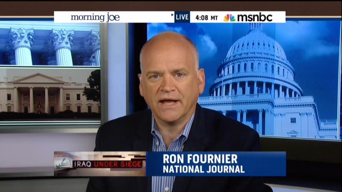 National Journal hack Ron Fournier: Watching NFL is tacit support for abuse of women and children.