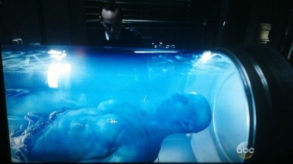 "So is the ""alien"" they're getting the GH325 out of an Adamite? #AgentsofSHIELD http://t.co/2jeeCycM1"