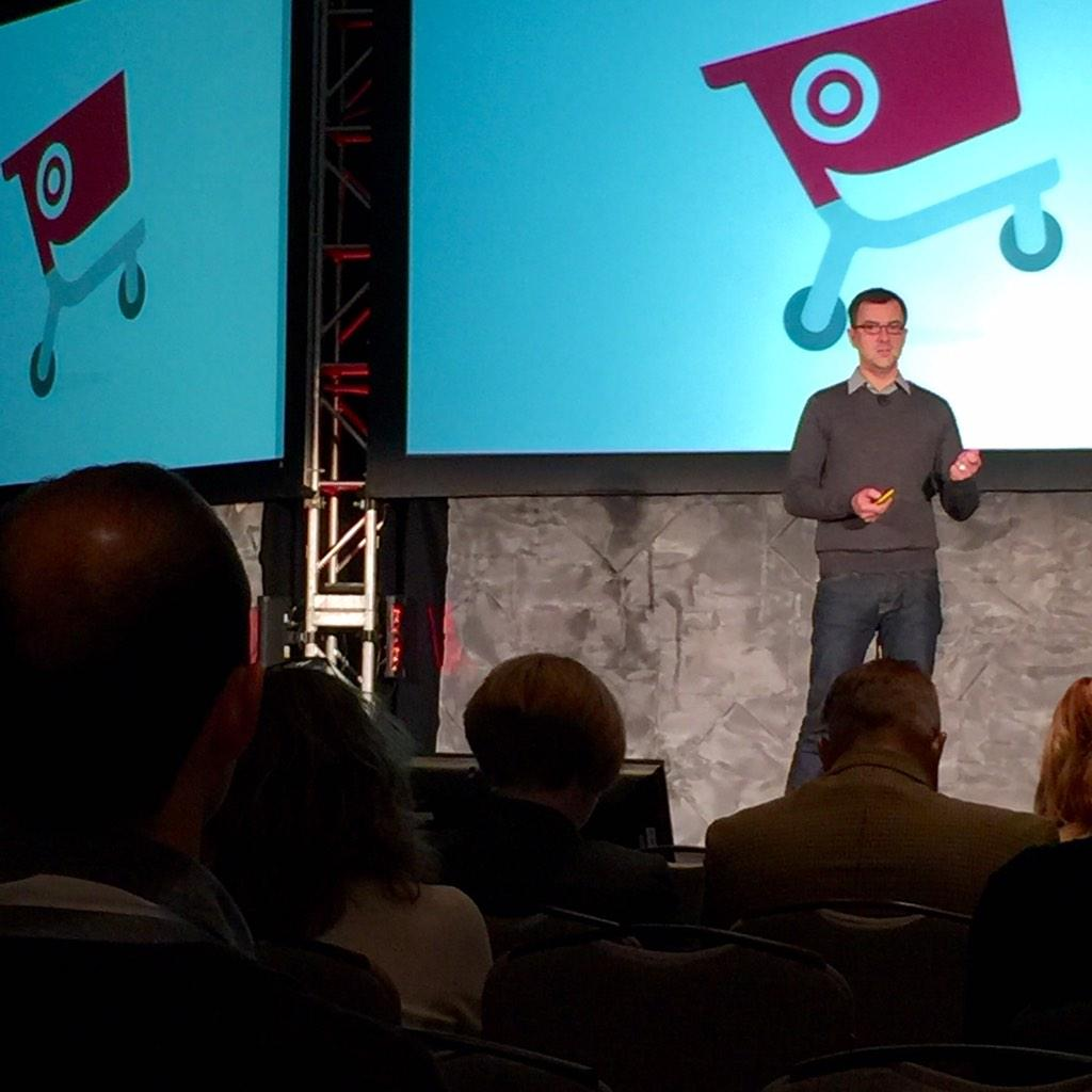 Target now has 21 product teams and has hired 157 engineers, says @awizemann, its first-ever product head... #mobcon http://t.co/SNzrIIA1OK