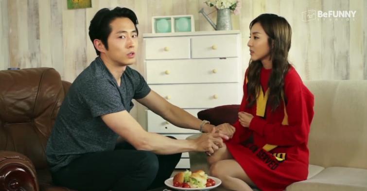 Steven Yeun and Sandara Park Team Up For Hilarious Mini Web Series!  http://t.co/Qdos1iLXTI @steveyeun @krungy21 http://t.co/ZjWpBfwNDj