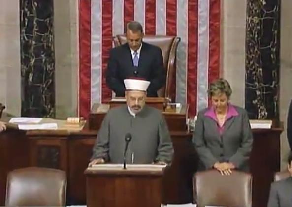 Meet the Imam that Boehner allowed to praise Allah on House floor