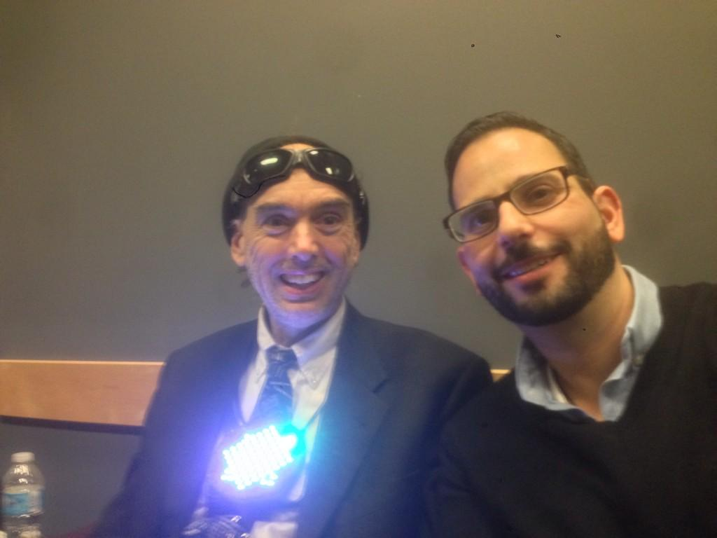 Had a great time at #FITCwearables discussing the future w @Hydraulist (father of wearables) http://t.co/HmuNjludA9