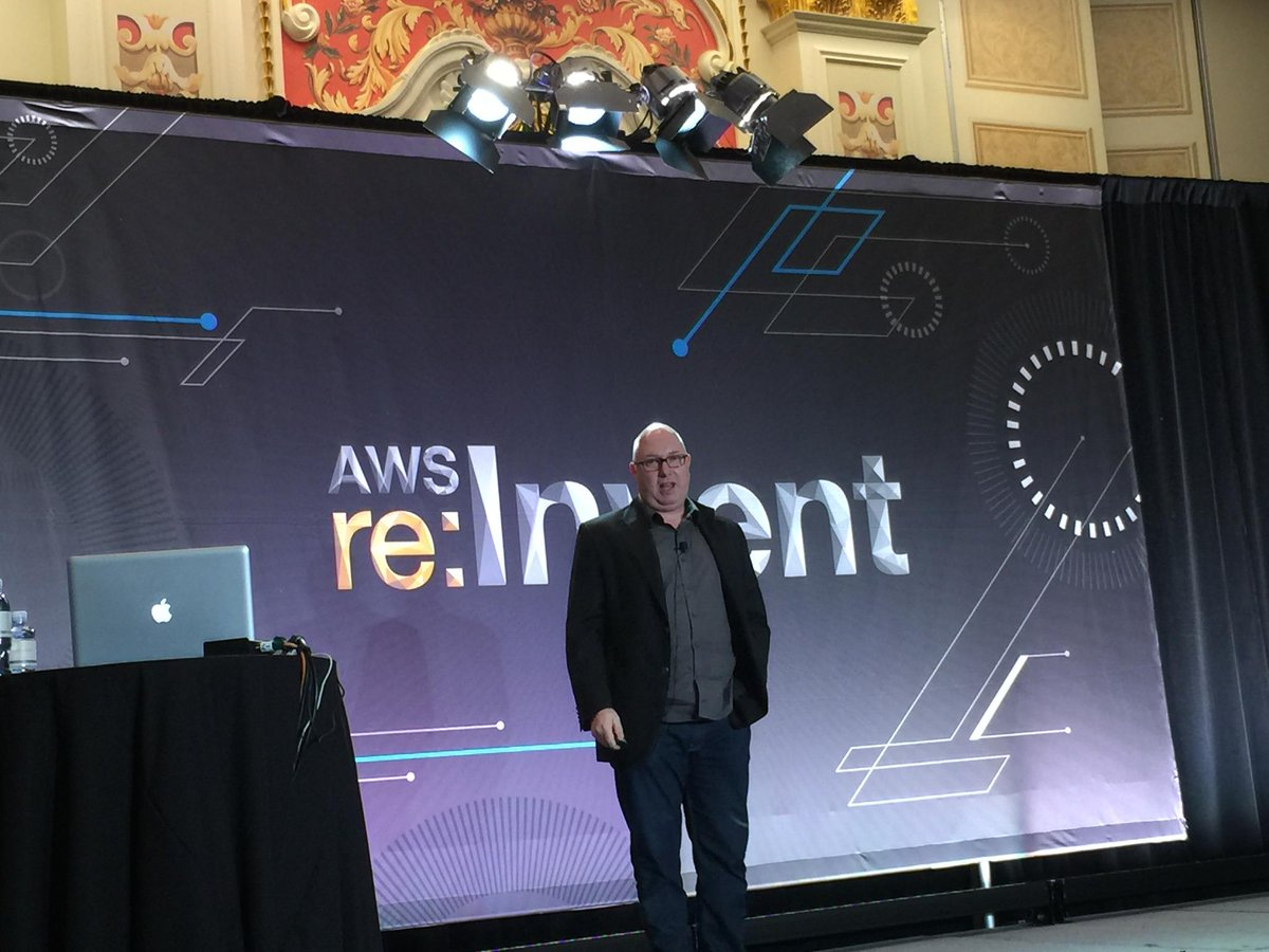 Chip Wilcox Speaks at AWS Re:Invent Startup Launches 2014