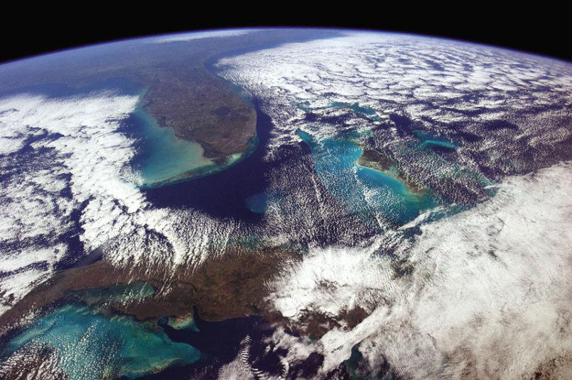 Nws miami on twitter another great shot of florida from for Space station florida