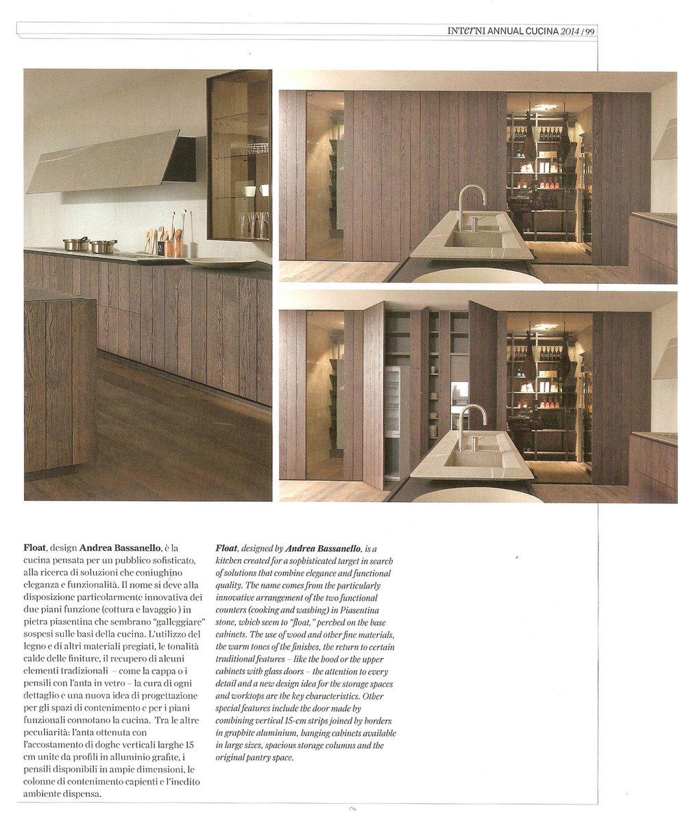 "Accostamenti In Cucina modulnova on twitter: ""design kitchen trends modulnova float"