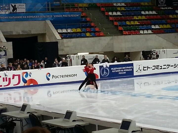 4 этап. ISU GP Rostelecom Cup 2014 14 - 16 Nov 2014 Moscow Russia-1-2 B2ZLgOqIcAAMy5h