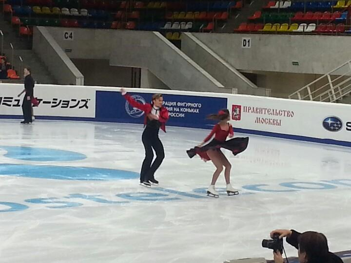 4 этап. ISU GP Rostelecom Cup 2014 14 - 16 Nov 2014 Moscow Russia-1-2 B2ZNUNfIgAAXRK0
