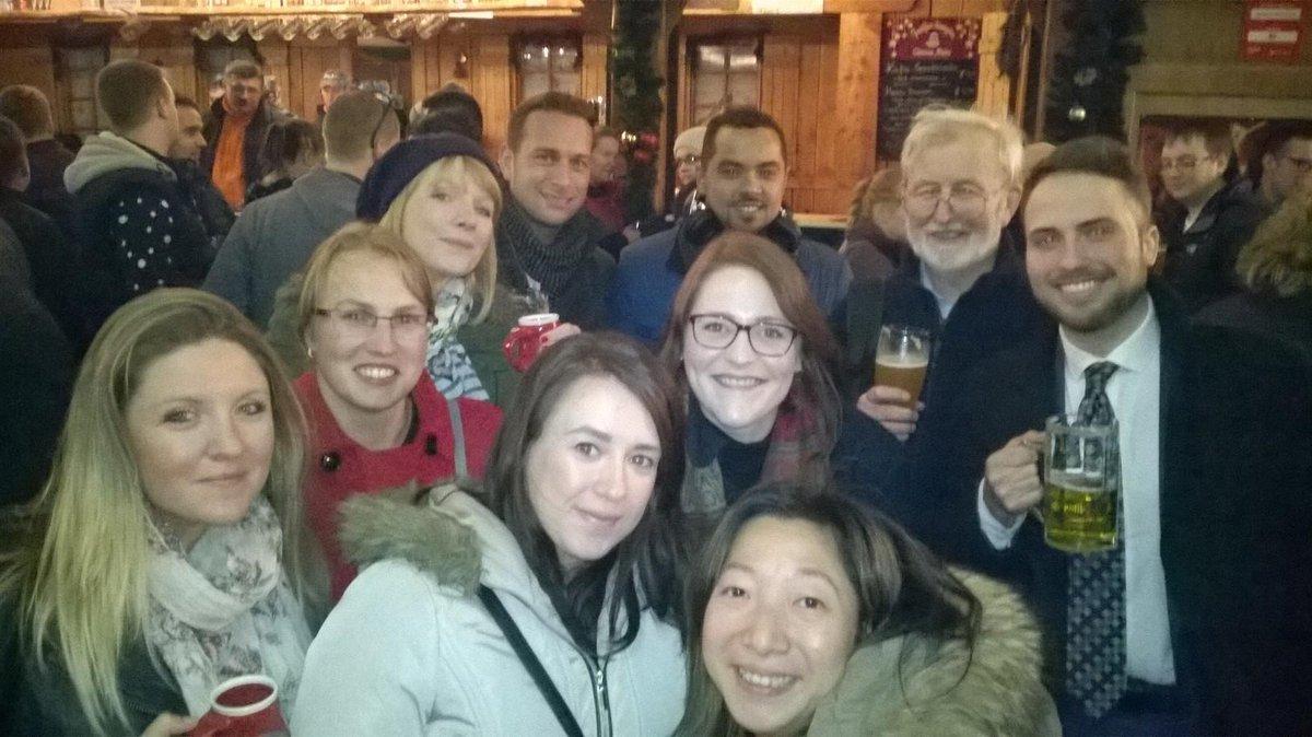 The Centrick team visit the German market