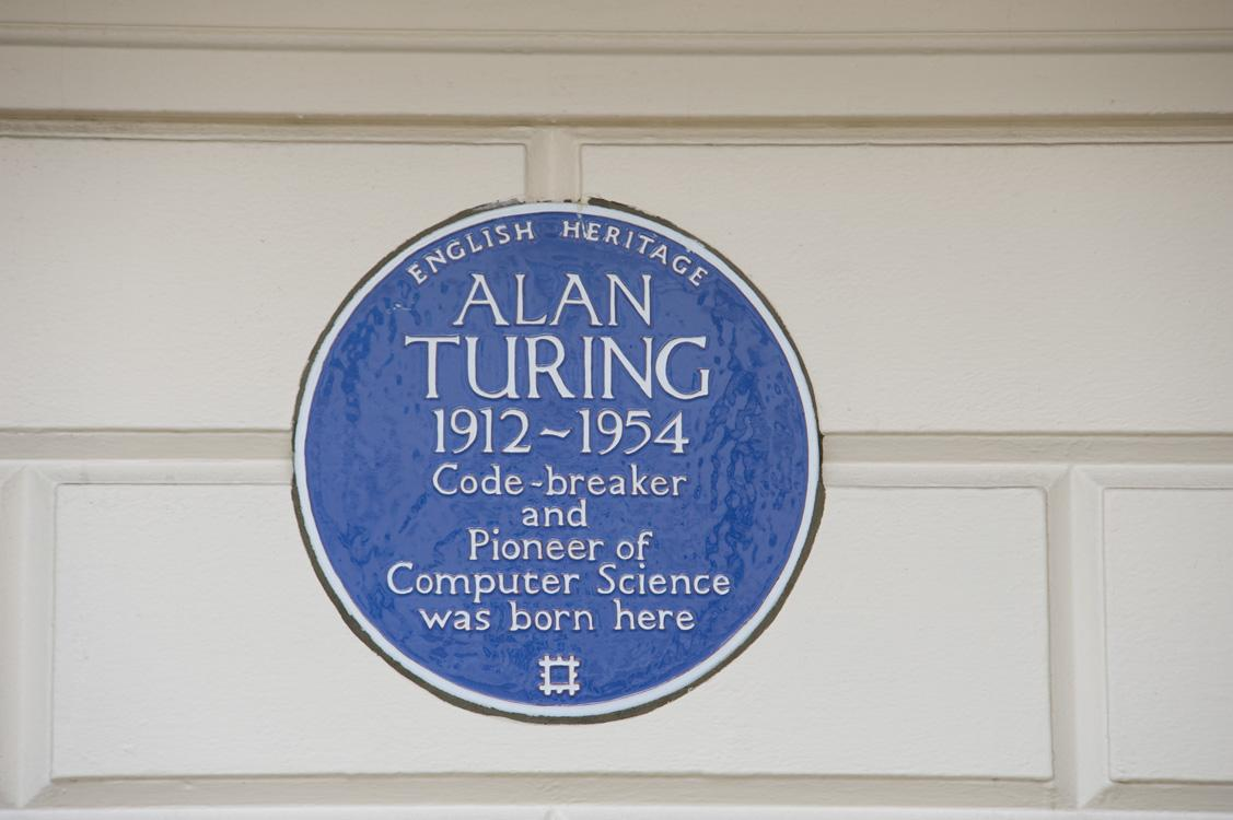 Blue Plaque for Alan Turing, code-breaker and pioneer of computer science http://t.co/DhWKtudGJv #ImitationGame http://t.co/3rPcSyf4dp