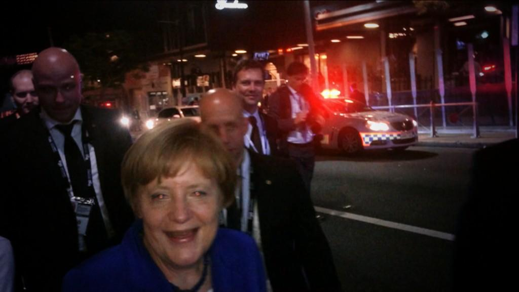 Angela Merkel Pops Out For Beers In Australia At G20 Summit