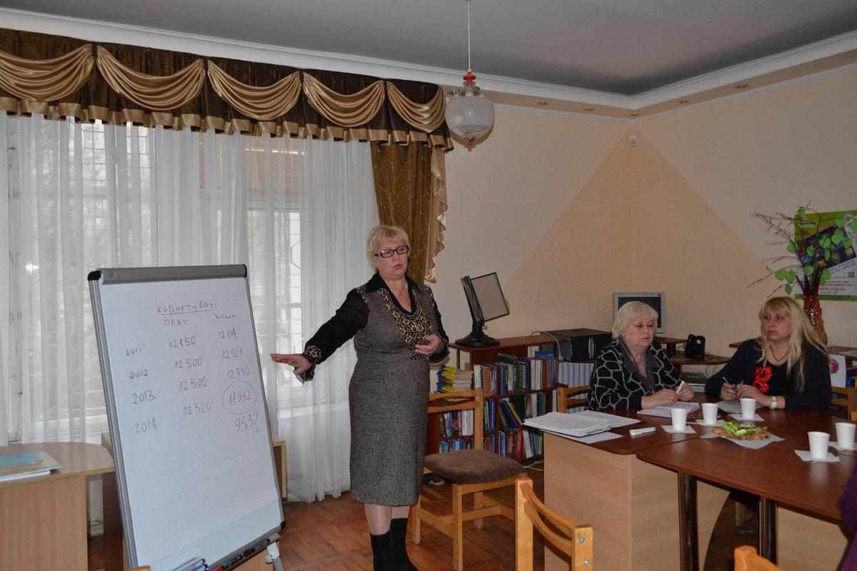13.11.2014 відбулося чергове навчання працівників нашої бібліотеки в «Клубі професіоналів».#підвищення_кваліфікації