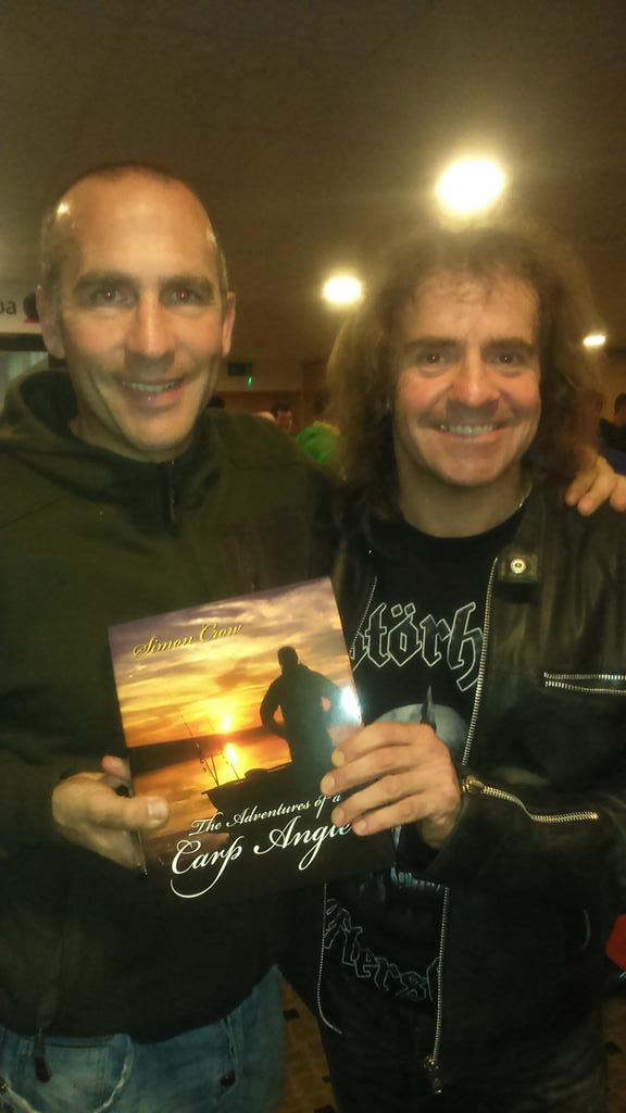 RT @juliancundiff: A proud moment as my pal Simon Crow released his new book today. Great bloke, book and angler.Absolutely recommended htt…