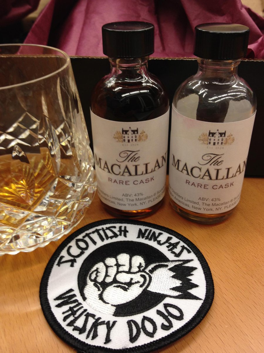The #WhiskyDojo has never looked more classy.  Thanks @USMacallan! #DiscoverRare http://t.co/dnR5KLXqLK