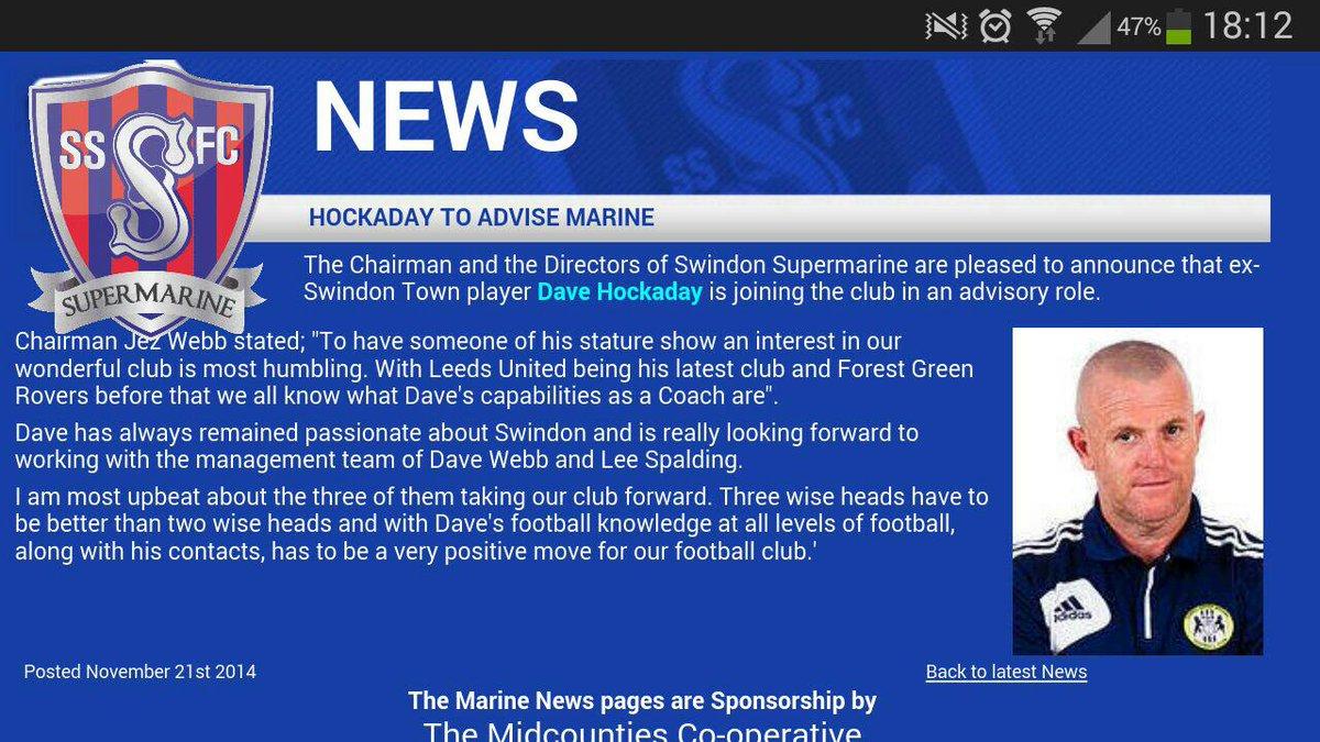 .@WACCOE Hock returns to football... http://t.co/Ylmcou2AZZ