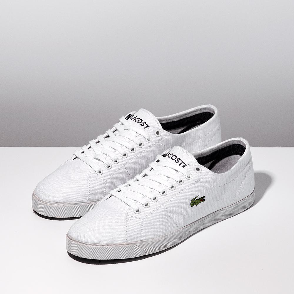 26838b55087353 This  Lacoste Marcel Canvas is available in store and online in men s UK  sizes 6-12 →http   bit.ly 1Fb6hg1 .pic.twitter.com QHnrO5MI7s