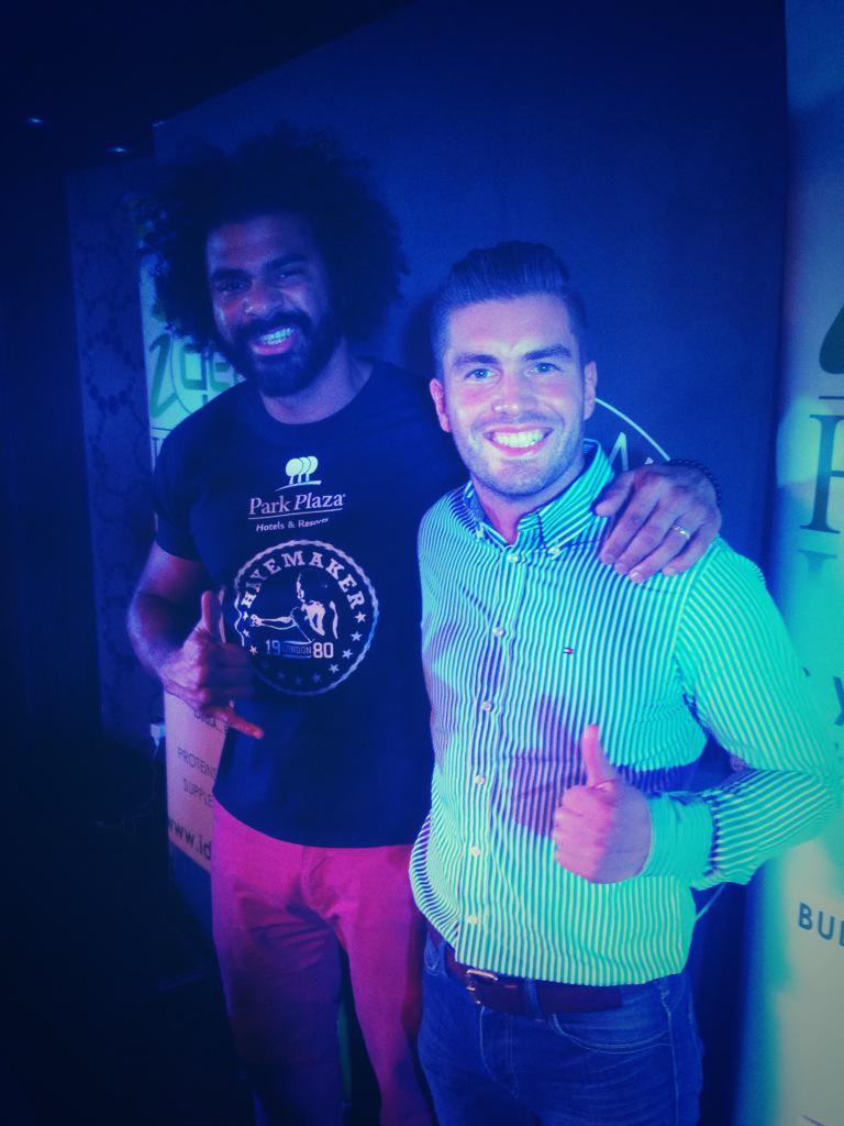 RT @motleysfool: Great to meet the main man @mrdavidhaye at long last! http://t.co/Epx4gp3UbV