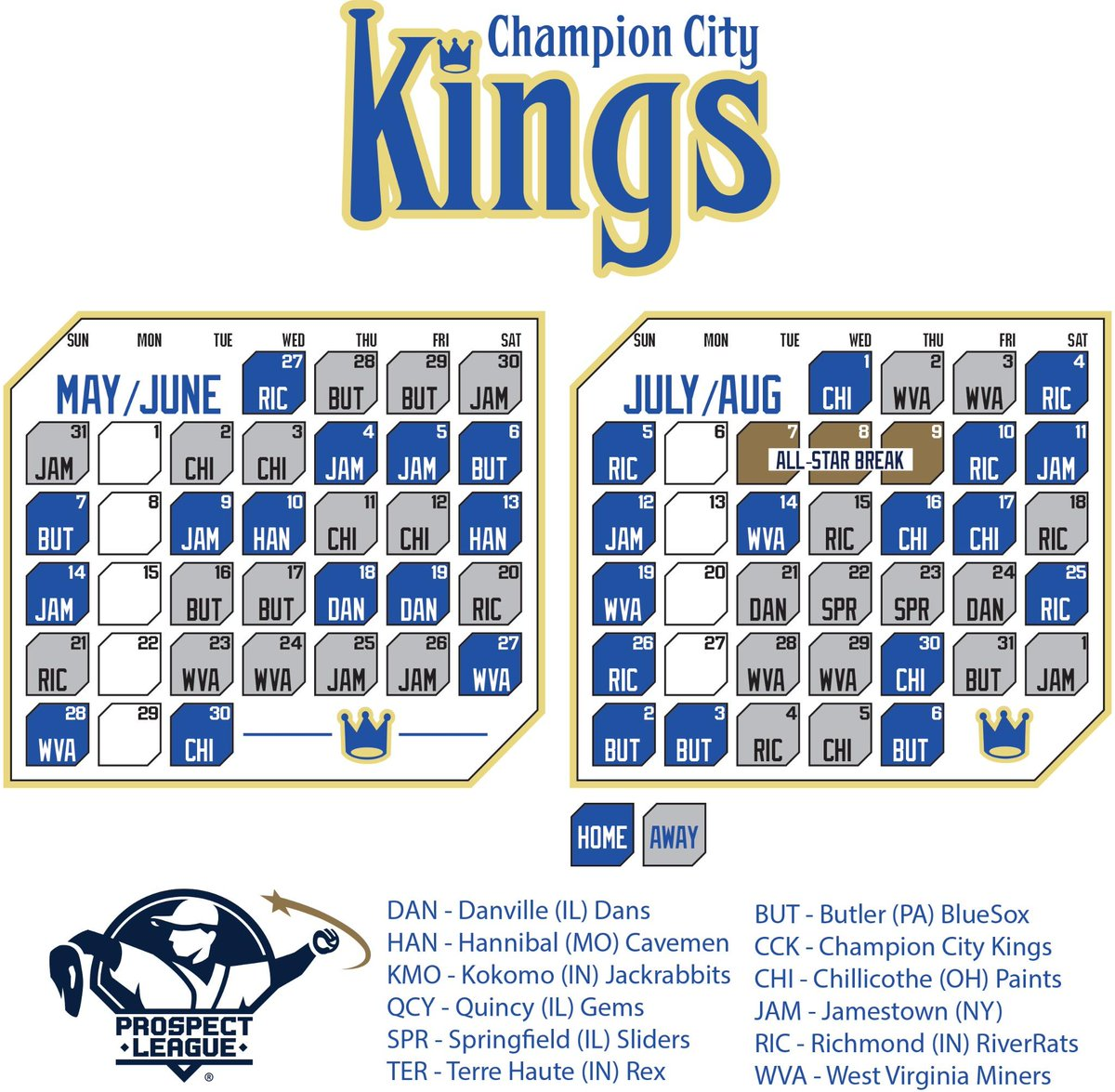 """champion city kings on twitter: """"our 2015 schedule is out! http://t"""