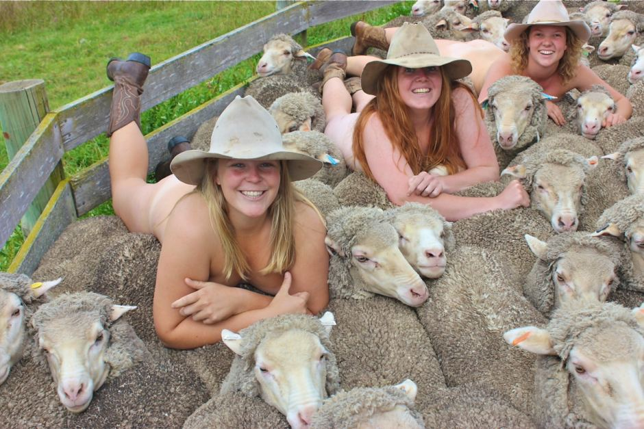 Naked wisconsin farm girls