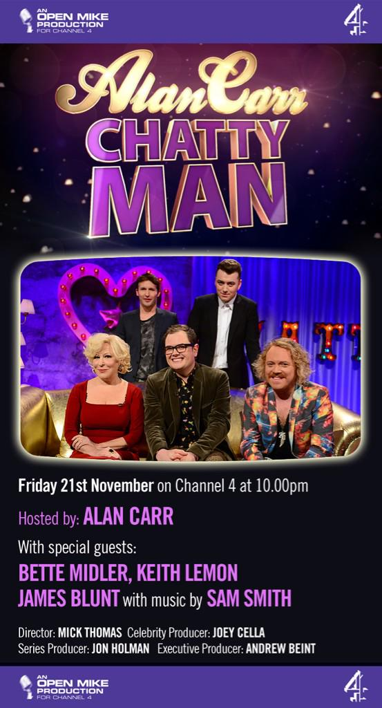 Had many fun on Alan's telly show! http://t.co/KiWgDqOoac