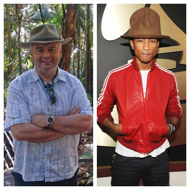 RT @paulorossradio: @EamonnHolmes bossing the Pharrell Williams hat look in #ImACeleb. http://t.co/DCqsgjDBOv