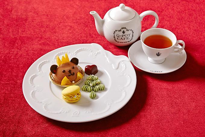 Q-pot CAFE.から、限定スイーツ登場 - くまモチーフのケーキやキャラメルムースなど -