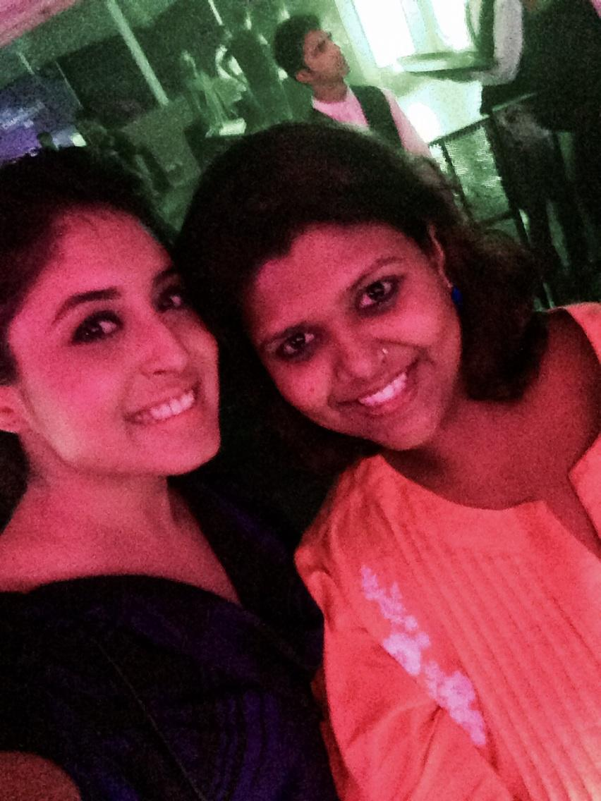 At #TheChainSmokers concert for @Vh1India Supersonic Arcade with @Kritika_Kamra http://t.co/jCuJOL0p9j