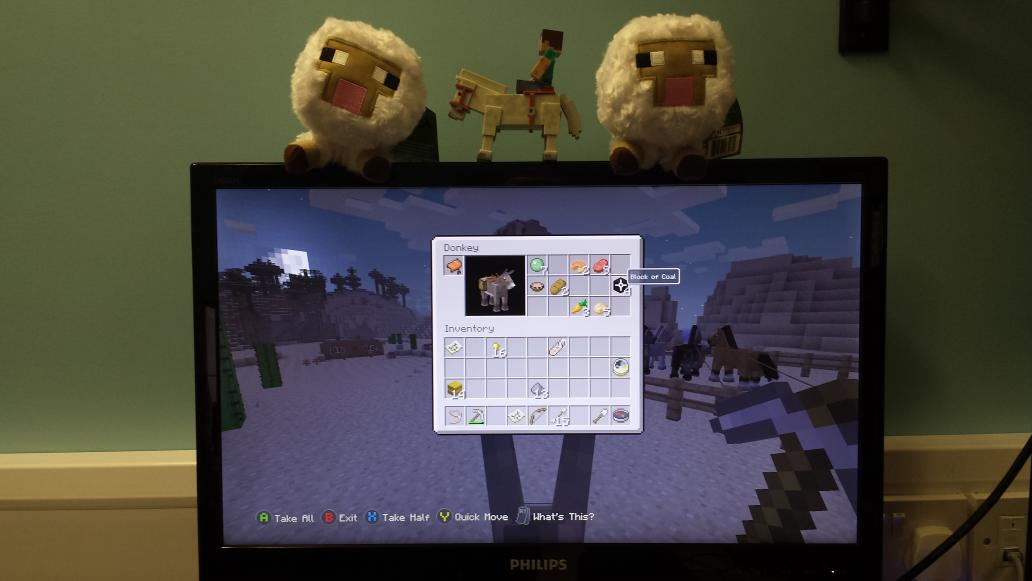 how to make hay bales minecraft xbox