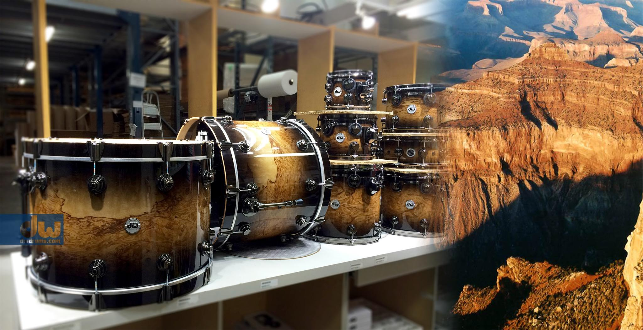 Mountains of drums! #dwdrums #thedrummerschoice http://t.co/MwhlNo54M4