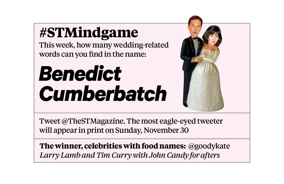 sundaytimesmagazine on twitter in this week s stmindgame how many