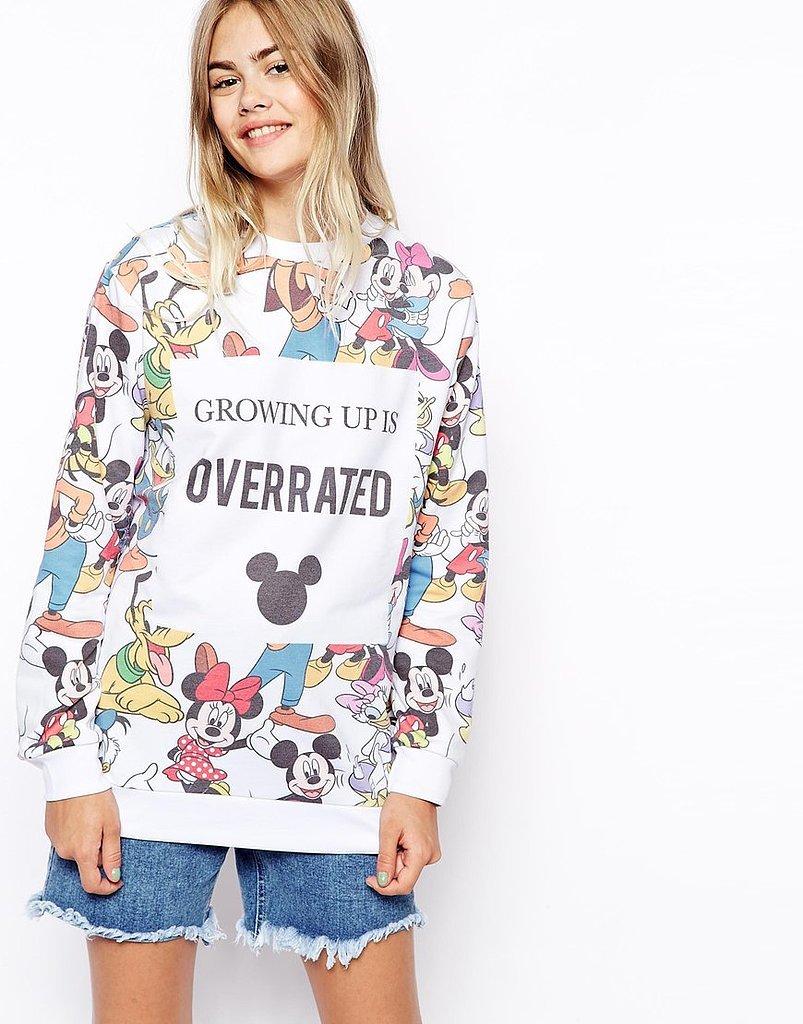 Trust, this @ASOS sweatshirt is first on every fashion girl @disney fanatic's wish list: http://t.co/yhc2bVl2ze http://t.co/dZTeSHXLLH