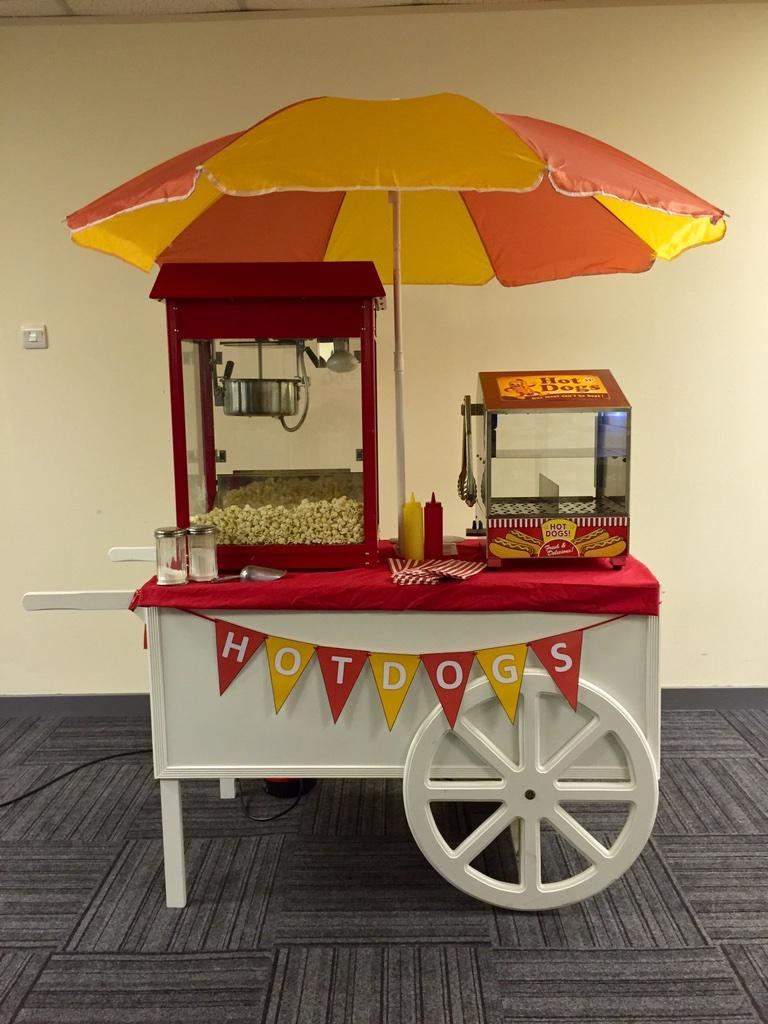 What do you think? Would you hire this for a party. Popcorn and Hotdogs? http://t.co/RIEjAcksVq