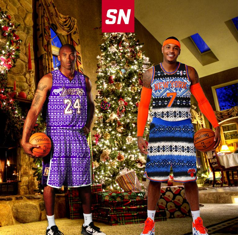 rt if the nba should try ugly christmas sweater jerseys httpt - Nba On Christmas
