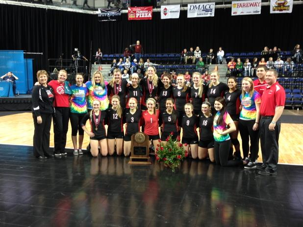 Here they are: Your 2014 Class 4A State VB Champions! #kmasports http://t.co/pDXFgtOEZP