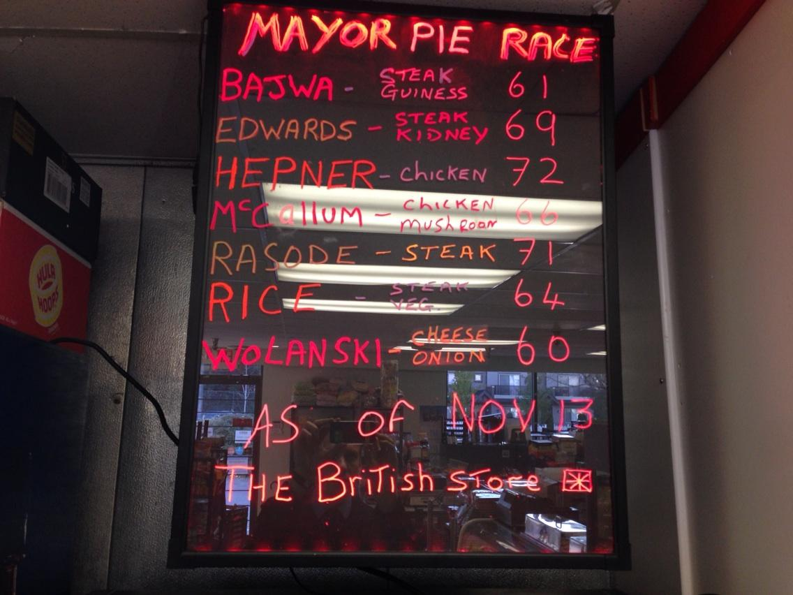 Poll at #SurreyBC's British Store in Newton turns out to be statistically accurate. #SryElxn14 http://t.co/roZyCyXu7P
