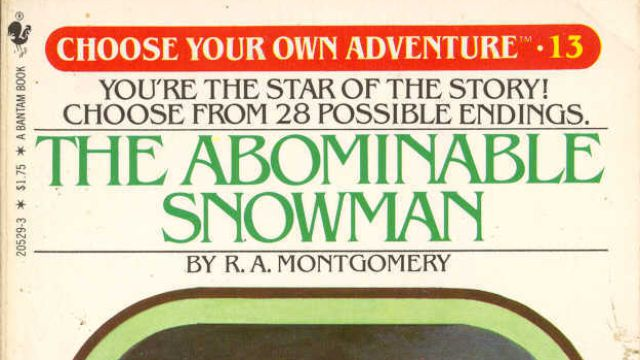 SADNESS. RT @TheAVClub: R.I.P. R.A. Montgomery, writer/publisher of Choose Your Own Adventure http://t.co/4FOfYRTsYx http://t.co/LD1hWjpMab
