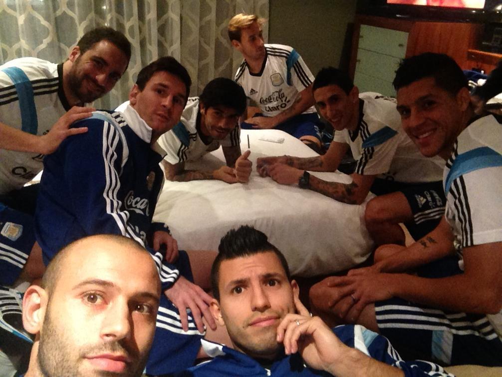 "La Selección argentina se ""aburre"" en Manchester"