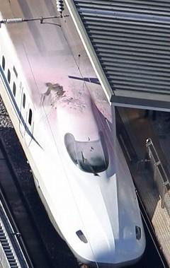 【コゲコゲコゲ】東海道新幹線:新横浜駅 停車車両の屋根で男感電し転落 - 毎日新聞 http://t.co/UGVdVmF6yy http://t.co/36VuMMPe3h