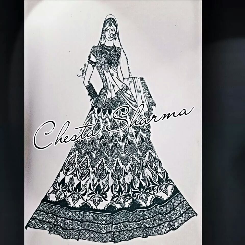 Designs fashion indian sketches exclusive photo