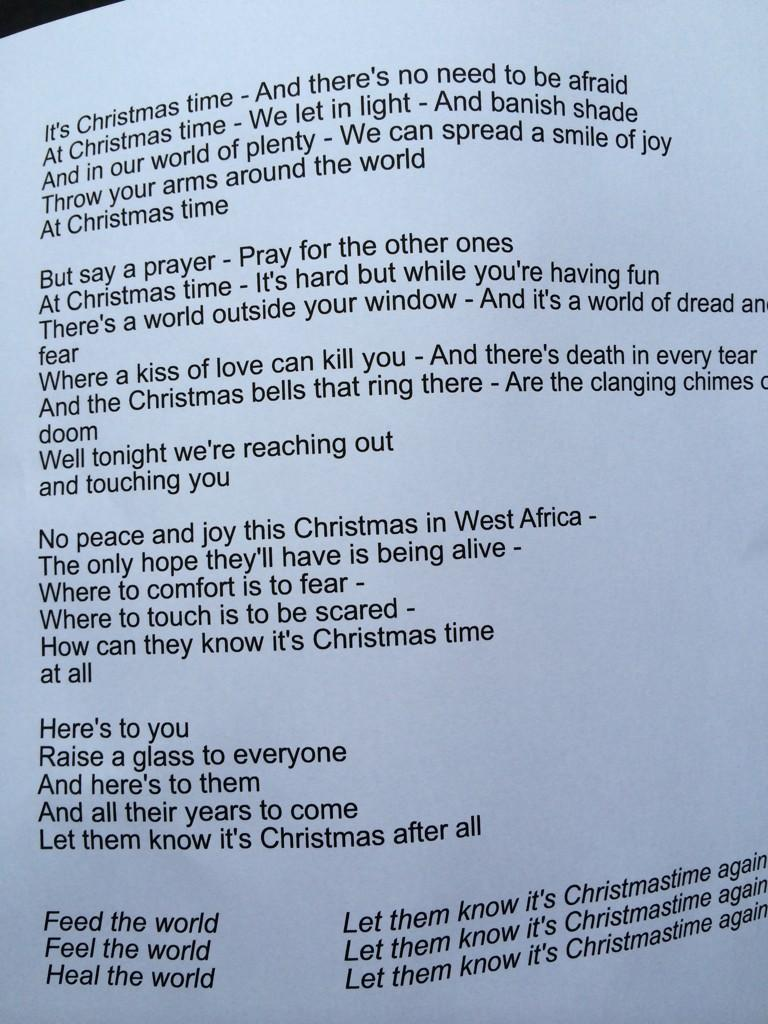 Lyric i ve been changed lyrics : Here Are The Lyrics To The New Band Aid 30 Version Of