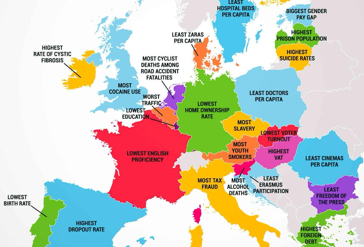 Denmark wins this. By miles. RT @SonyKapoor: What every #EU country is worst at… http://t.co/61R2aVyMu3