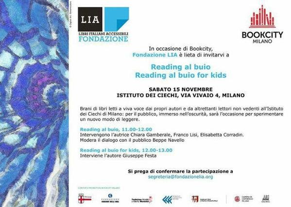 Thumbnail for Reading al buio Fondazione LIA #libriitalianiaccessibili