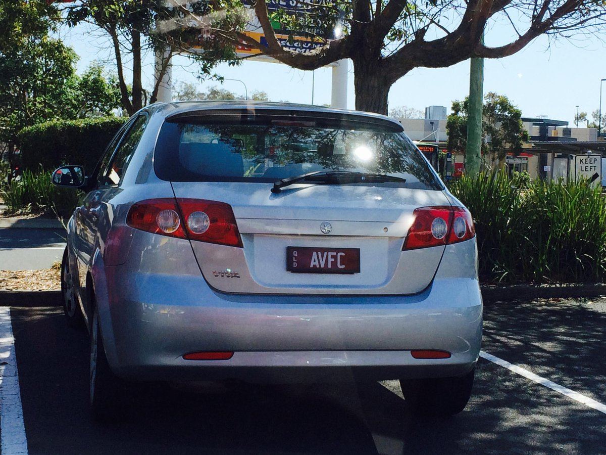 @AVFCOfficial Spotted this licence plate at Victoria Point, SE Queensland this morning. #AVFC http://t.co/bhhNLvDsfp