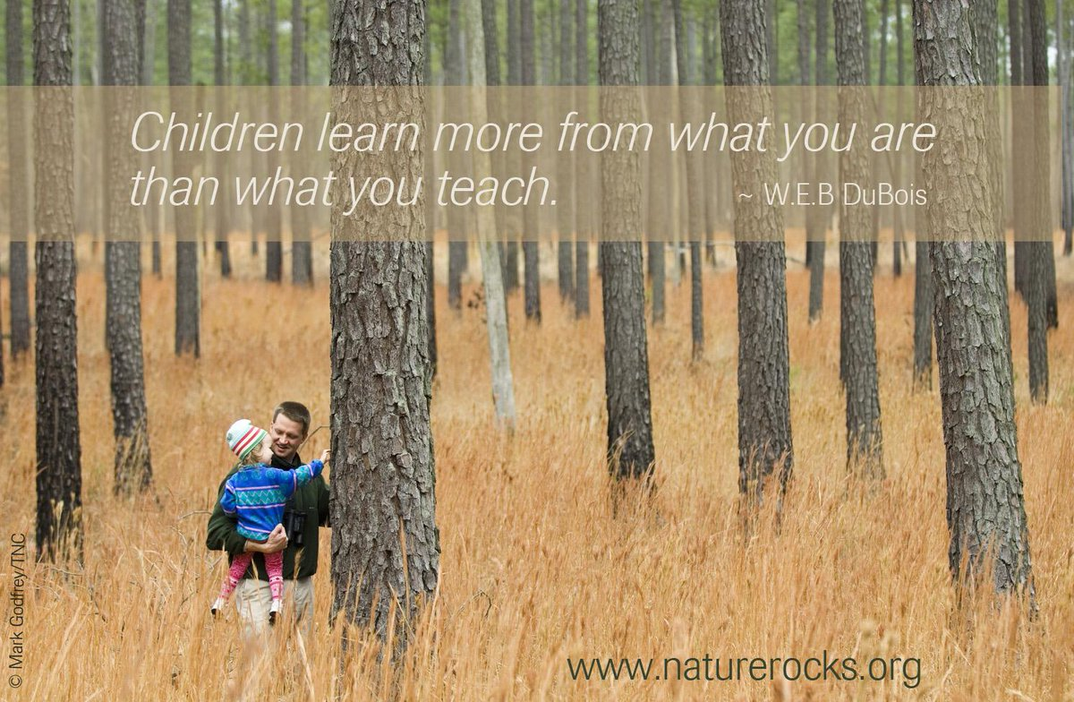 """Children learn more from what you are than what you teach."" ~W.E.B. DuBois http://t.co/ApASWjWVxR"