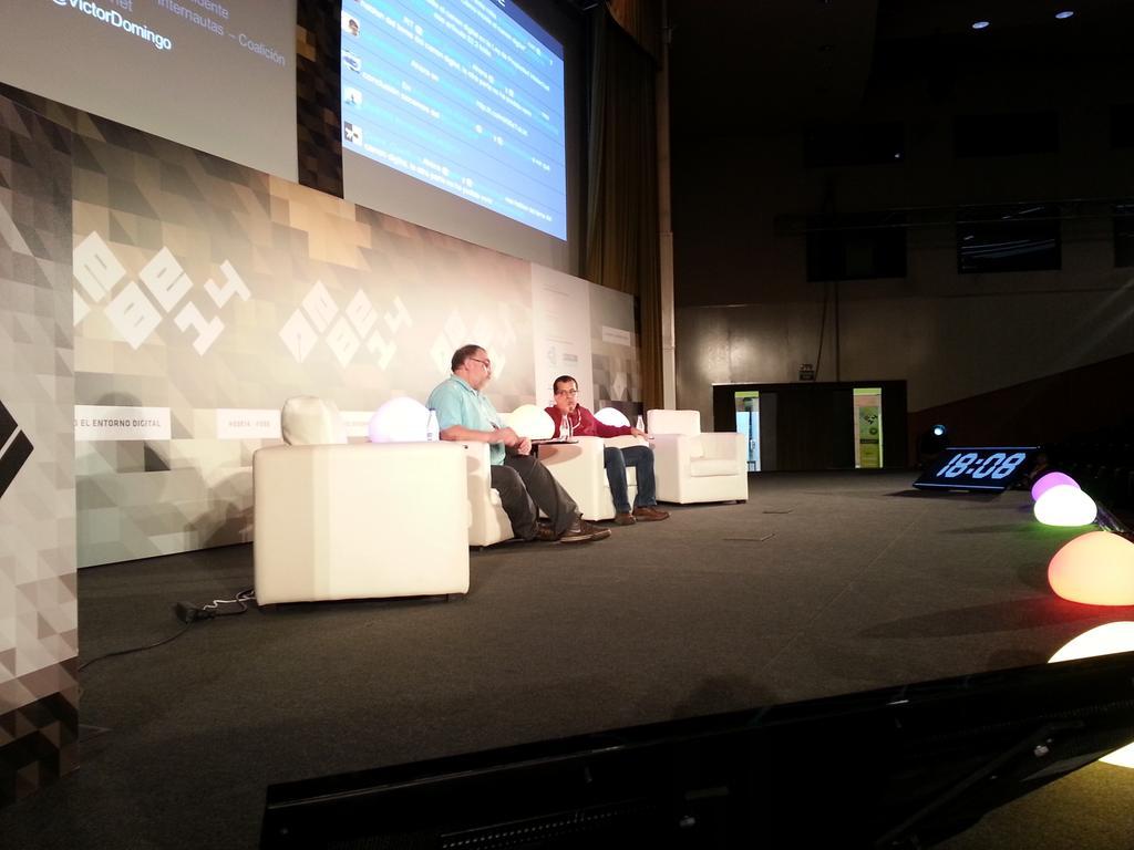 Víctor Domingo y Ricardo Galli en EBE 2014